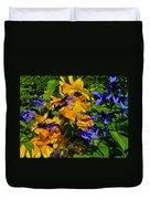 Garden Splash Duvet Cover