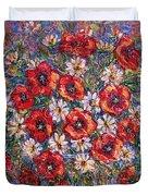Garden Splendor Duvet Cover