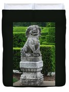Garden Statue Duvet Cover