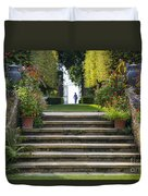Garden Steps Duvet Cover