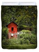 Garden Still Life Duvet Cover