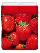 Garden Strawberries Duvet Cover