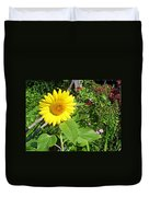 Garden Sunflower Duvet Cover