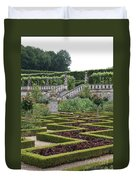 Garden Symmetry Chateau Villandry  Duvet Cover