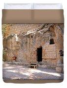 Garden Tomb Duvet Cover