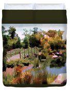 Japanese Gardens - Garden View Series 05 Duvet Cover