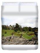Garden View - Powerscourt Garden Duvet Cover