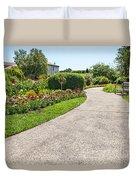Garden Walkway Duvet Cover