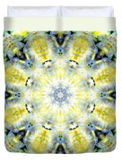 Gardenia Mandala Duvet Cover