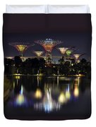 Gardens By The Bay Supertree Grove Duvet Cover