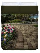 Gardens In The Park Duvet Cover