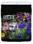 Gardens Of Beauty Duvet Cover