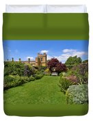 Gardens Of Sudeley Castle In The Cotswolds Duvet Cover