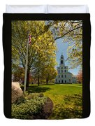 Gardens Of The First Parish Duvet Cover