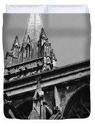 Gargoyles King's College Chapel Tower Duvet Cover
