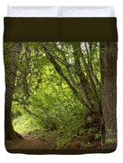 Garibaldi Old Growth Cedars Duvet Cover