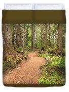 Garibaldi Path To Cheakamus Lake Duvet Cover
