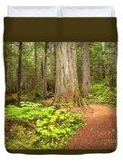 Garibaldi Wilderness Rainforest Duvet Cover