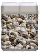 Garlic Harvest Duvet Cover