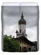 Garmisch Partenkirchen  Duvet Cover