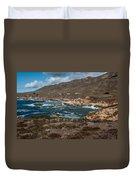 Garrapata Coast Duvet Cover