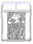 Gart Der Gesuntheit, 1485 Duvet Cover