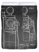 Gas Pump Patent Duvet Cover