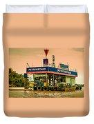 Gas Station Vietnam Style Duvet Cover
