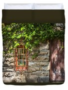 Gate And Window Duvet Cover