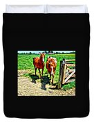 Gate Horse Duvet Cover