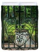 Gate Keeper Duvet Cover