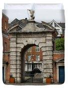 Gate Of Fortitude - Dublin Castle Duvet Cover