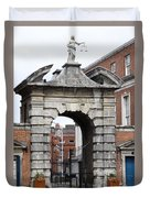 Gate Of Justice - Dublin Castle Duvet Cover