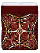 Gates Of Balance Duvet Cover