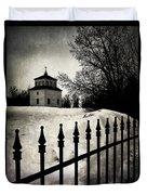 Gates Of Grace  Duvet Cover