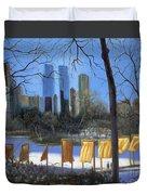 Gates Of New York Duvet Cover