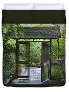 Gates Of Tranquility Duvet Cover