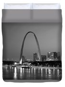 Gateway Arch In St Louis Duvet Cover