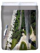 Gateway Arch St Louis 11 Duvet Cover