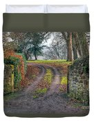 Gateway To Autumn Duvet Cover