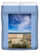 Gateway To Serenity Myrtle Beach Sc Duvet Cover by Stephanie McDowell
