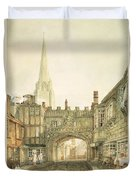 Gateway To The Close, Salisbury Duvet Cover