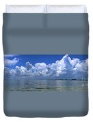 Gateway To The Gulf Duvet Cover