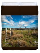 Gateway To The Mountains Duvet Cover