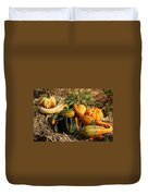Gather The Harvest Duvet Cover