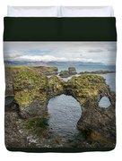 Gatklettur Arch In Hellnar Duvet Cover