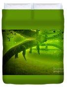 Gator Reflection Duvet Cover