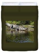 Gator Smile Duvet Cover