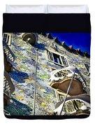 Gaudi - Casa Batllo Exterior Duvet Cover