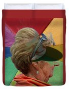 Gay Old Times  Duvet Cover